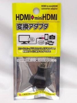 HDMI→miniHDMI 変換アダプタ
