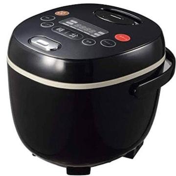 色ブラック 多機能炊飯器 4合炊き マイコン炊飯ジャー ブラック