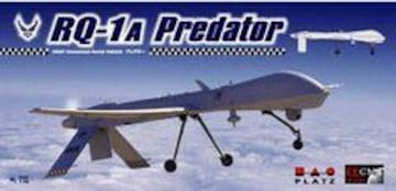 プラッツ 1/72無人偵察機 RQ-1A プレデター