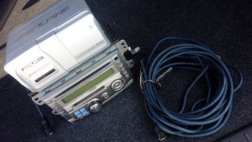 MD-CD-ラジオデッキ&MD6連チェンジャー&接続コード