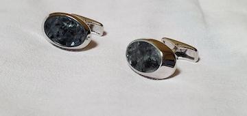 正規レア アルフレッドダンヒル 大理石×SV クラッシュリフレクションカフス マーブル ADボタン