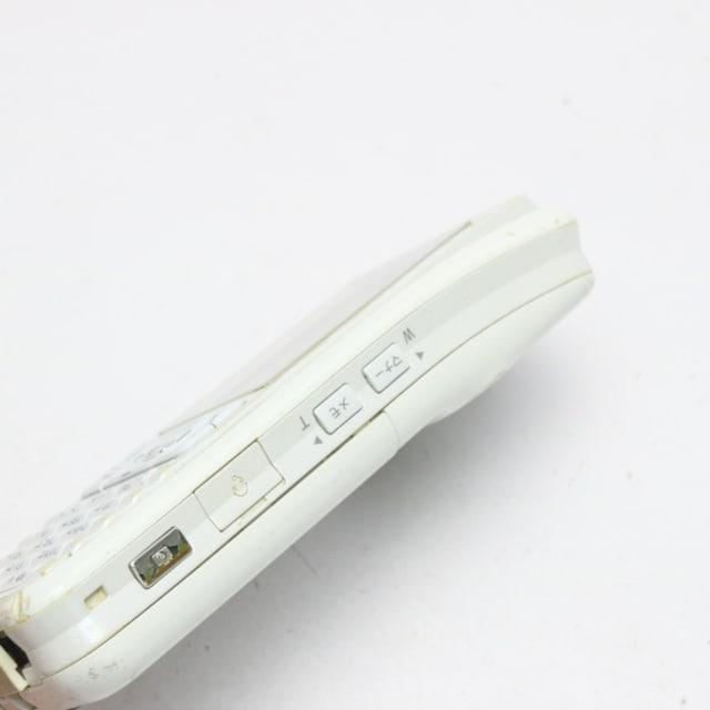 ●安心保証●良品中古●SO902i ホワイト×ホワイト●白ロム < 家電/AVの