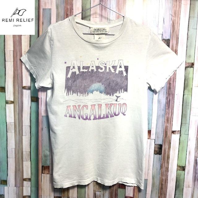 REMI RELIEF ALASKA SP FINISH Tシャツ < 男性ファッションの