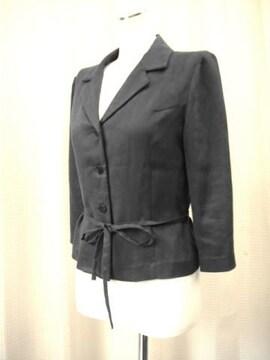 【moni】黒のステッチジャケットです