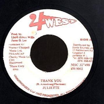 Juliette 「Thank You」 EMINEMエミネム&Dido ラヴァーズレゲエ カバー
