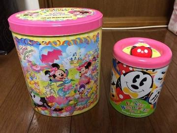 美品ディズニーランドイースター缶ミッキーTDL TDS 2011