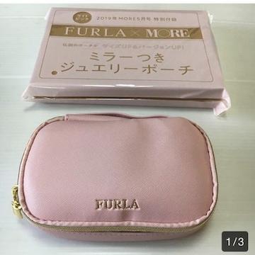 MORE5月号 FURA-MORE ミラーつきジュエリーポーチ