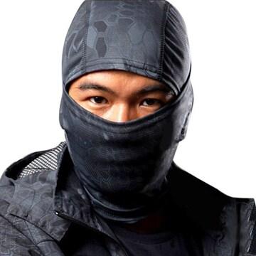 送料無料 タクティカルマスク 目出し帽 フルフェイスマスク