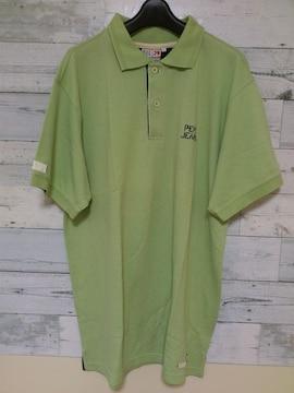 セールPepeJeansペペジーンズビッグポロシャツL ライトグリーン