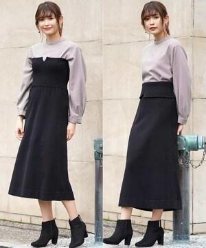 新品☆a.v.v(アー・ヴェ・ヴェ)2WAYニットスカート☆