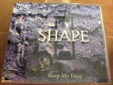Sleep My Dear CD SHAPE 初回盤