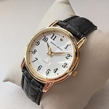 追悼 pierre cardin 2021迎春記念 紳士用 腕時計 普通郵便 無料