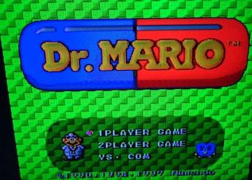 Dr.MARIO ドクターマリオ カセットのみ
