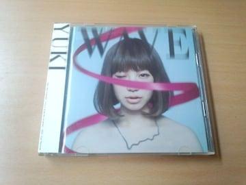 YUKI CD「Wave」DVD付初回生産限定盤●