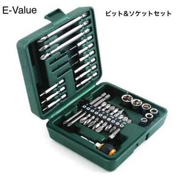 新品 【E-Value】ビット&ソケット BS-4 29pcs [27046]