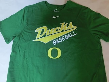 ナイキ USカレッジ【OREGON DUCKS】BASEBALL T US XL