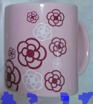 クレイサス CLATHAS マグカップ カメリアロゴ ピンク 新品