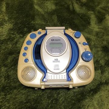 Qriom ポータブル CD ラジオ YAMAZEN
