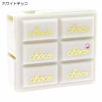 【チョコレート型】可愛い文具.ステーショナリー♪ラインストーン付セロハンテープ白