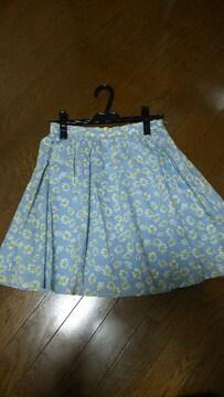 バナーバレット■花柄スカート■新品タグ付き