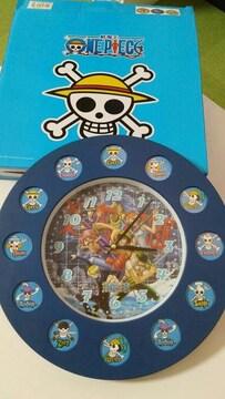 【新品】航海王ONE PIECE アナログ掛け時計