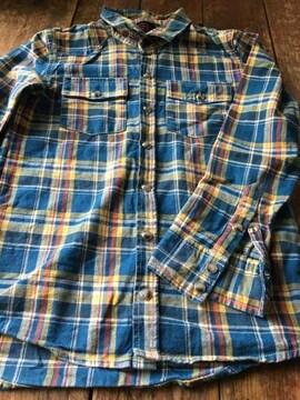 新品 KRIFF MAYER クリフマイヤー ネルシャツ140