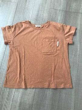 Otonato今季半袖TシャツSバックスタイル有り茶系