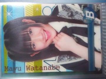 AKB48トレカ「渡辺麻友クリアカード」