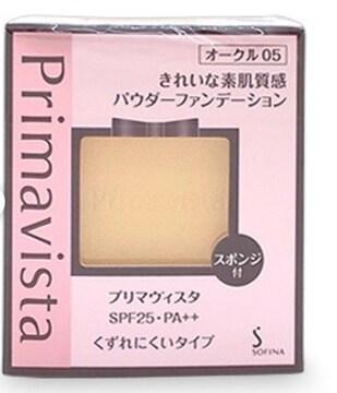 新品 プリマヴィスタ くずれにくいきれいな素肌質感ファンデ05