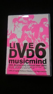 V6 LIVE DVD 10th Anniversary CONCERT TOUR 2005 musicmind