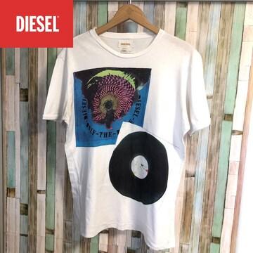 DISEL デザインTシャツ