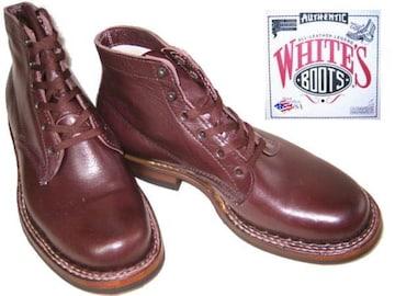 ホワイツ ブーツ ビブラムソール2332Wセミドレス黒チェリ9