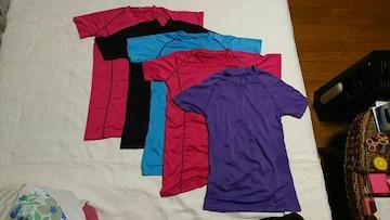 カラフル アンダーシャツ 5枚