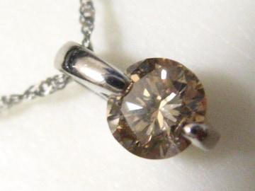 女性の憧れ1石天然ダイヤの030キャラ.オールプラチナ一生物の本物宝飾ネックレス
