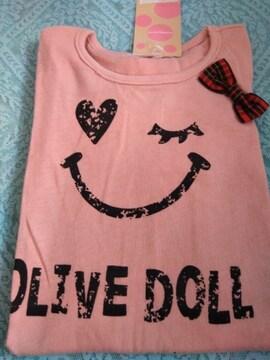 新品 OLIVE des OLIVE DOLL 女の子半袖 T シャツ 90サイズ