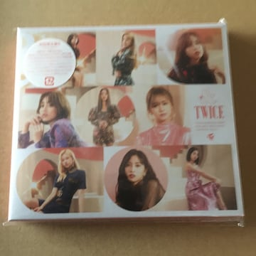即決 トレカ封入 TWICE &TWICE 初回限定盤B (+DVD) 新品未開封