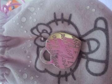 TIFFANYハートネックレス本物ヘッドsilver925美品