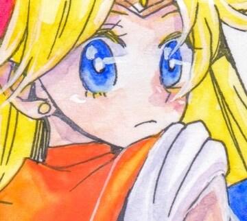 自作イラスト「美少女戦士セーラームーン/セーラーヴィーナス 愛野美奈子」