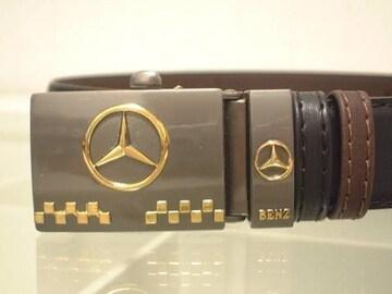 ★激安★Mercedes-Benz★リバーシブル革ベルト★新品★SALE★