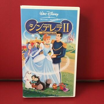 【VHS】シンデレラ�Uディズニー 二か国語版