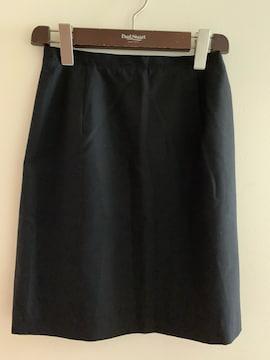 INEDイネド オフィスにも ウールマーク付スカート 黒 2