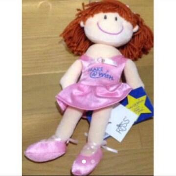 *新品☆チャコット☆RUSS☆バレリーナ抱き人形☆