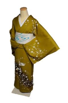 【最高級】新品同様 暈し染め 金彩 訪問着・袋帯セット T1717