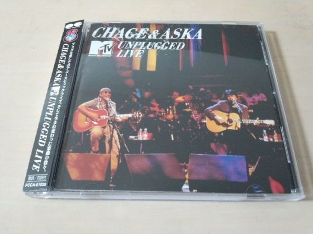 CHAGE&ASKA CD「MTV UNPLUGGED LIVE 」チャゲアス 飛鳥涼★  < タレントグッズの