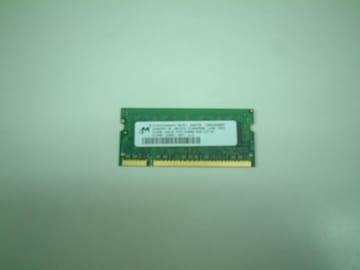 XP後半〜Vista ノートPC用メモリ PC5300S 512MB 動作品