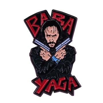 新品 Baba Yaga ピンブローチ ピンバッジ ピンズ