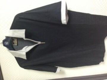 フィレゴルフ 半袖ハーフジップポロシャツ52 美品