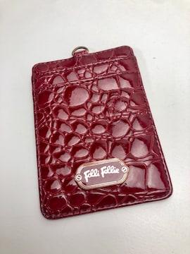 D268 フォリフォリ カードケース 定期入れ パスケース