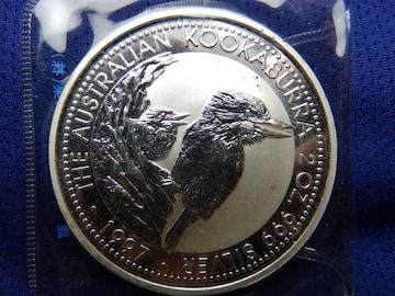 2oz 2ドル銀貨 1997年発行
