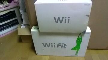 新品*WiiとWii Fit
